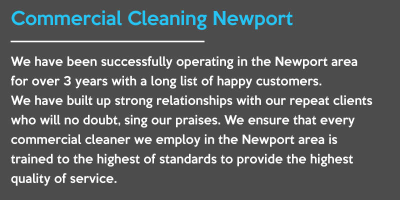 commercial cleaning newport